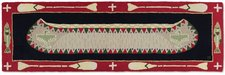 Long Boat Red Hooked Runners 8'x30inches 962REDLONGBOAT.jpg