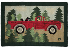 Road Trip Hooked Accent Rug 2'x3'  965ROAD.jpg