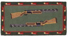 Shot Guns Hooked Accent Rug 2'x4' 966SHOTGUNS.jpg