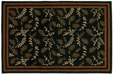 Willows & Cones Hooked Rug 6'x9'  800WILLOWS_CONES.jpg