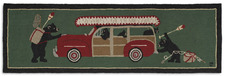 Woody Wagon Bears Hooked Runner 8'x30inches 962BEARWAGON.jpg